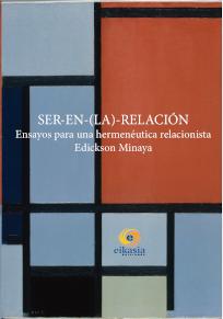 Cubierta de Ser-en-(la)-relación: ensayos (…) de Edickson Minaya